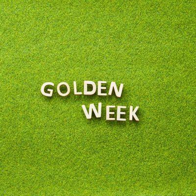 GOLDEN WEEK 白木  芝生